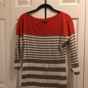 Express stripe dress